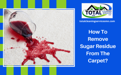 How To Remove Sugar Residue From The Carpet?