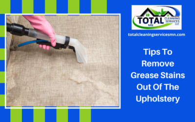 Tips To Remove Grease Stains Out Of The Upholstery