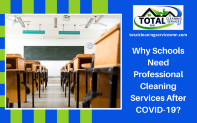 Why Schools Need Professional Cleaning Services After COVID-19?